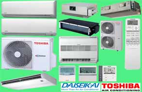 toshiba split air conditioners